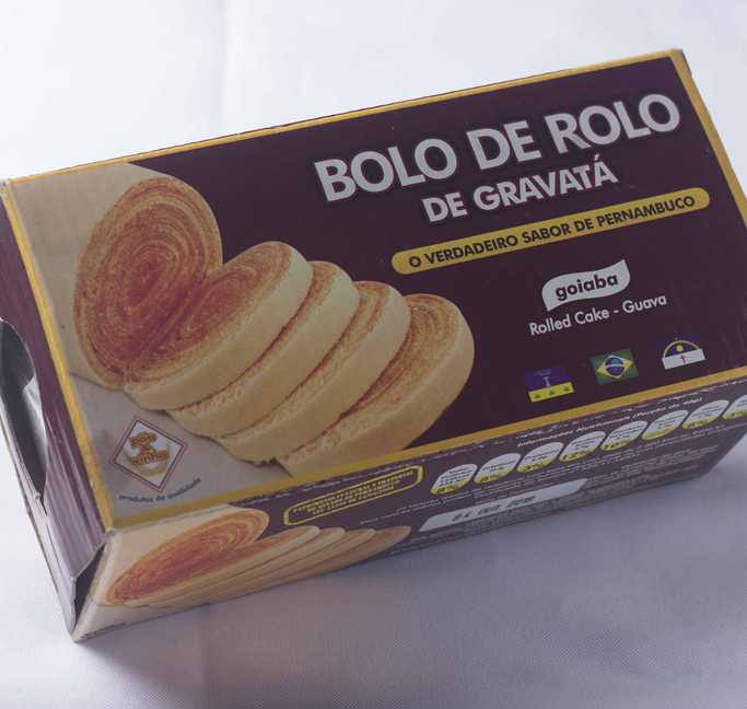 Bolo de Rolo – 500 gramas (Caixinha)